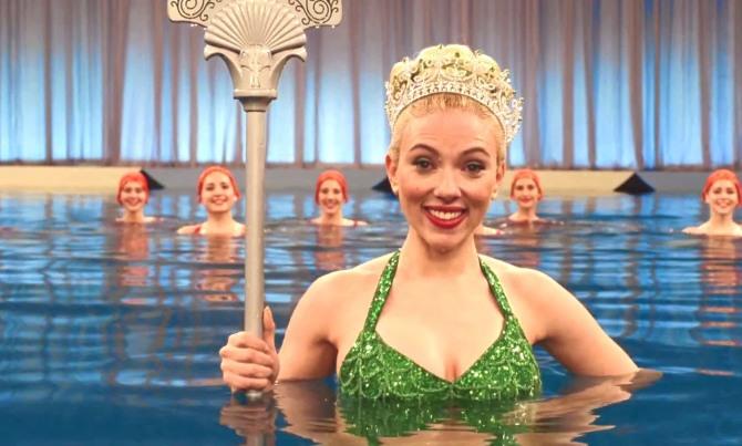 Scarlett Johannson in Hail, Caesar!