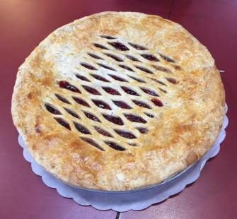 cherry pie at Fatapple's