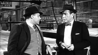 Rod Steiger and Humphrey Bogart in The Harder They Fall (1956)