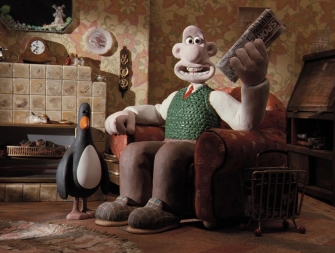 Feathers and Wallace in The Wrong Trousers, part of An Afternoon with Aardman Animations. Credit: Courtesy of SFFS.