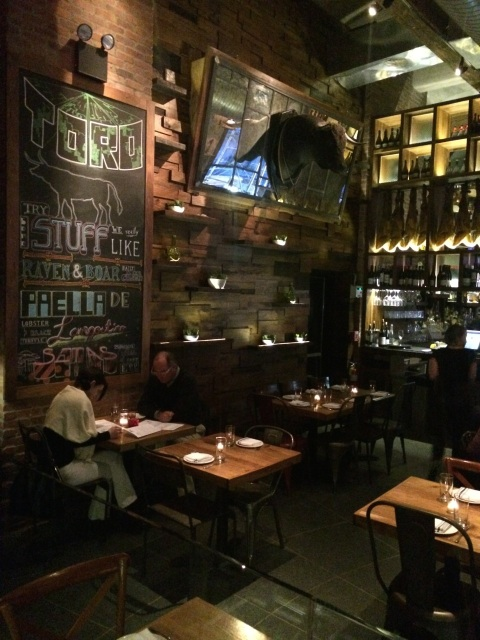 Toro, 85 10th Avenue, NYC.