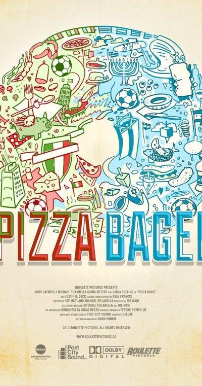 pizzabagel poster