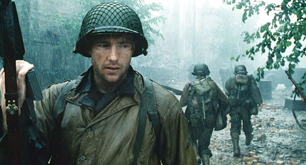 Ed Burns in Saving Private Ryan.