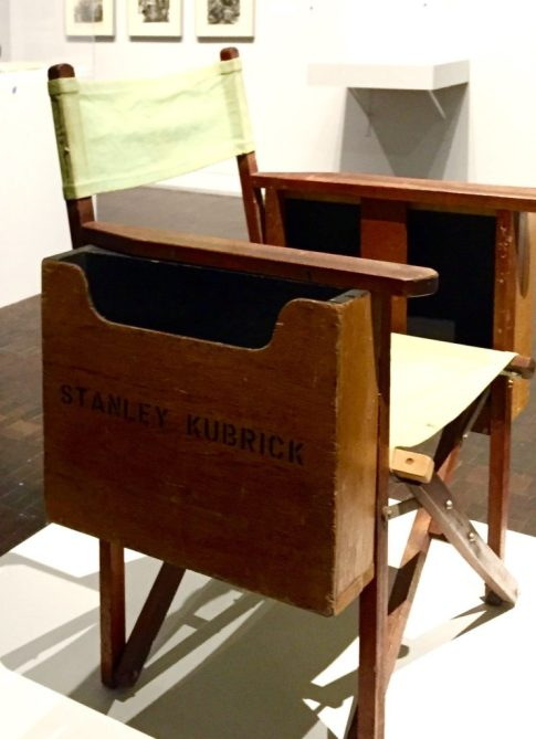 exhibitions_stanley-kubrick-the-exhibition_contemporary-jewish-museum-sf_little-magazine_littlemagonline_kubricks-directors-chair-e1470459666123-742x1024