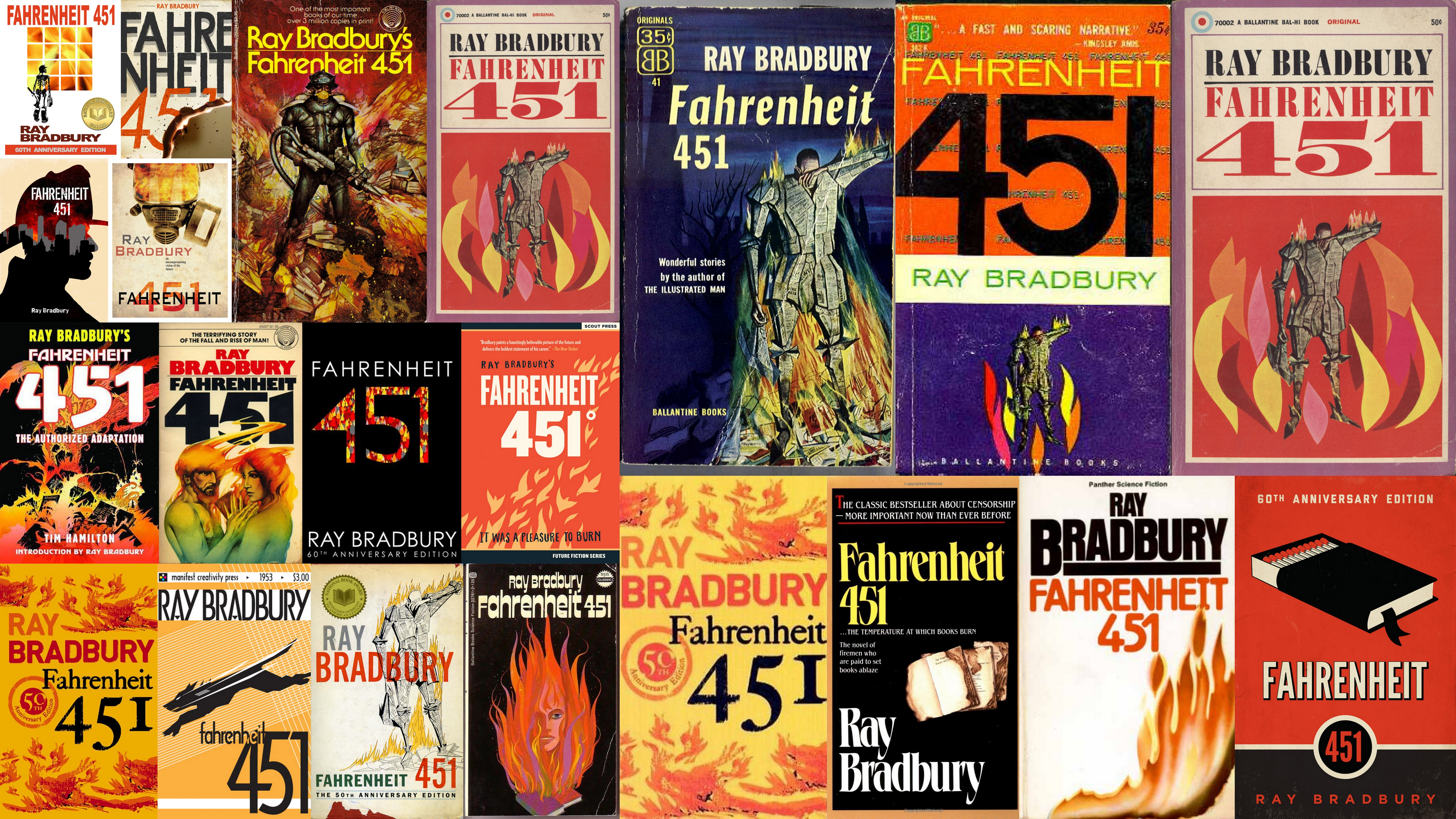 fahrenheit 451 and brave new world Dismay over the speed with which brave new world was be  happens with  montag in fahrenheit 4/1, x-127, known only by his functional label, comes.