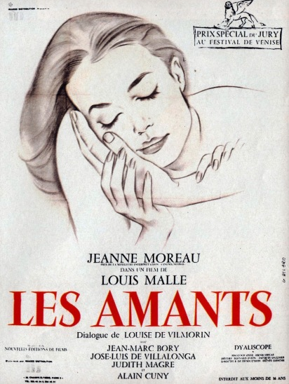 LES AMANTS - French Poster by Gilbert Allard