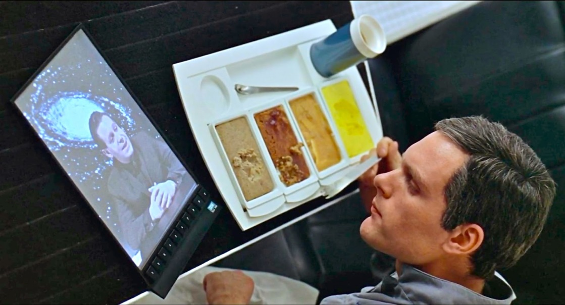 Image result for food in 2001 a space odyssey