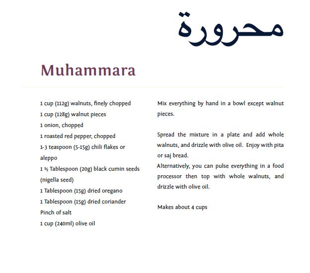 Muhamamara recipe.png