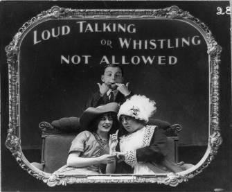 loud whistling