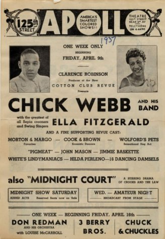 Chick Webb apollo