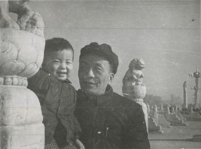 3. Ai Weiwei and Ai Qing, 1958 (1)