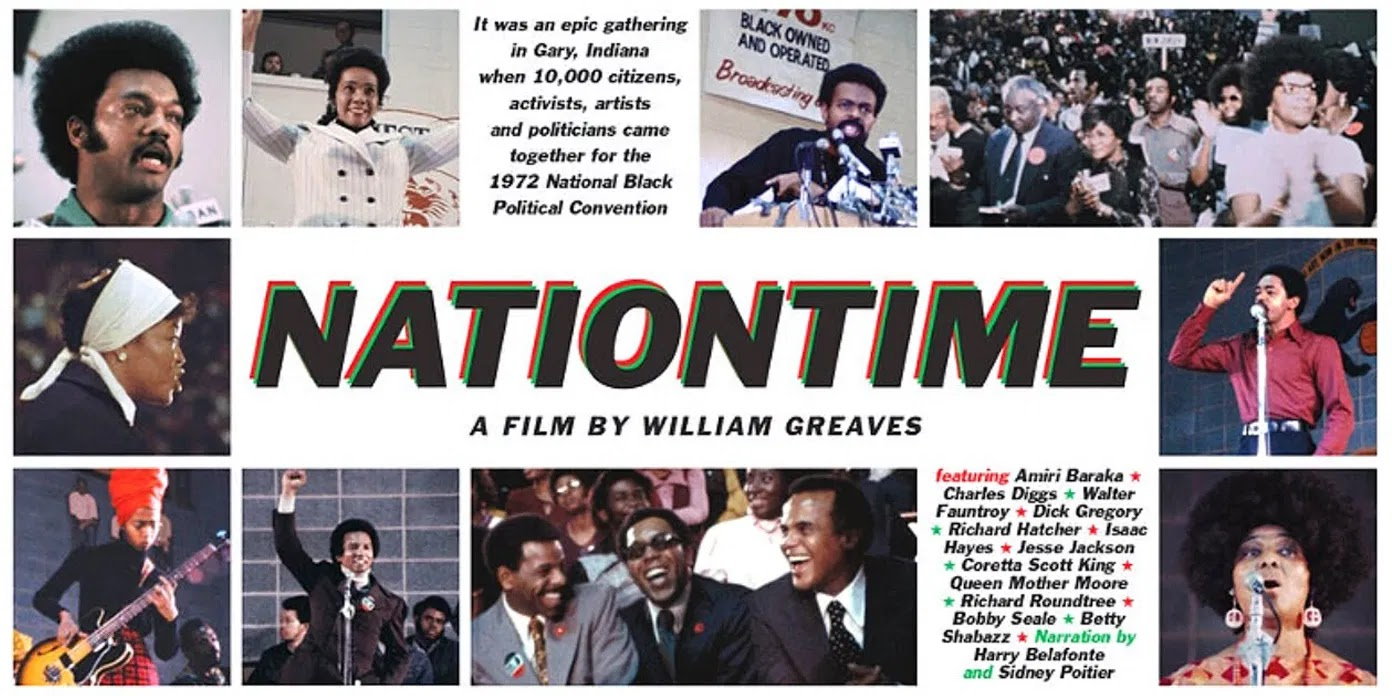 NewBlackMan (in Exile): Official Trailer · 'Nation Time' – 1972 Documentary  of the National Black Political Convention directed by William Greaves